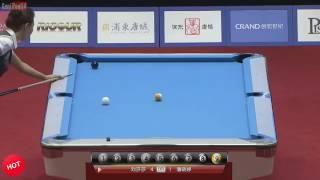 Billiards 2017 Pan Xiaoting 潘晓婷 Vs  Liu ShaSha   China Open 9 Ball Pool Women 2017