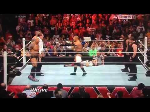 The Shield Save Daniel Bryan - RAW 07/04/14
