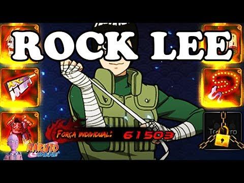 TODO O POTENCIAL DE ROCK LEE!