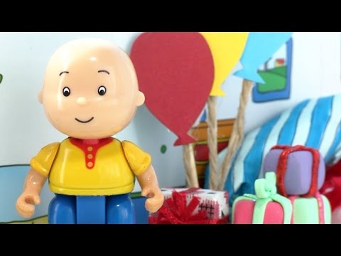 Caillou Holiday Toy Box Unboxing LIVE! 🎄 #CaillouHolidayFun   Toyshop - Toys for Kids ADVERTISEMENT