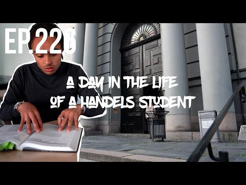 A Day in The Life of A Student at the Stockholm School of Economics