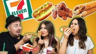 Trying food from 7 ELEVEN!