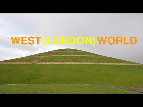 Walk From West Acton To Northolt, Greenford & Northala Hills (4K)
