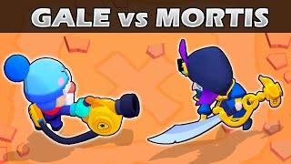 GALE vs MORTIS | 1vs1 | 26 Test | Brawler cromático