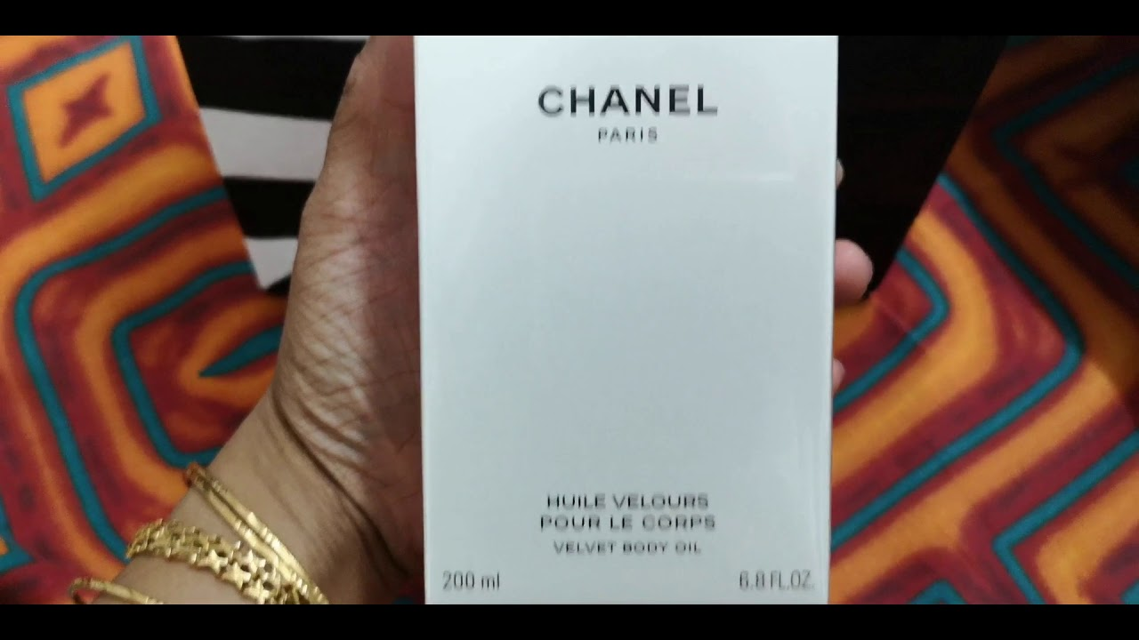 e3899d0252cef Coco Chanel Mademoiselle eau de parfum   Velvet Body Oil 200ml - YouTube