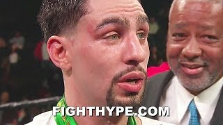 "DANNY GARCIA SECONDS AFTER DOMINATING IVAN REDKACH; TELLS PACQUIAO & SPENCE ""EITHER OR"""