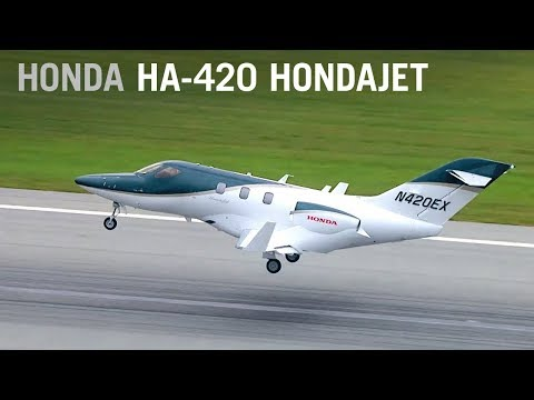 Flying the New HondaJet – AINtv