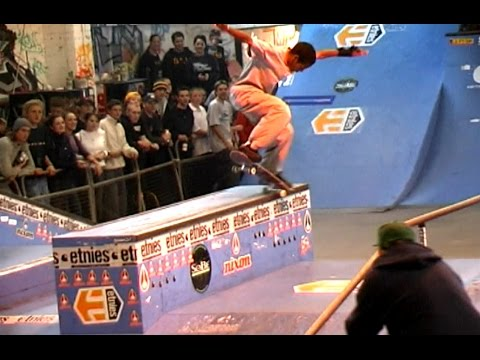 RADLANDS 2000, YOUNG BASTIEN SALABANZI EPIC RUN, WAINWRIGHT, HOWARD COOKE, EURO SKATE CONTEST