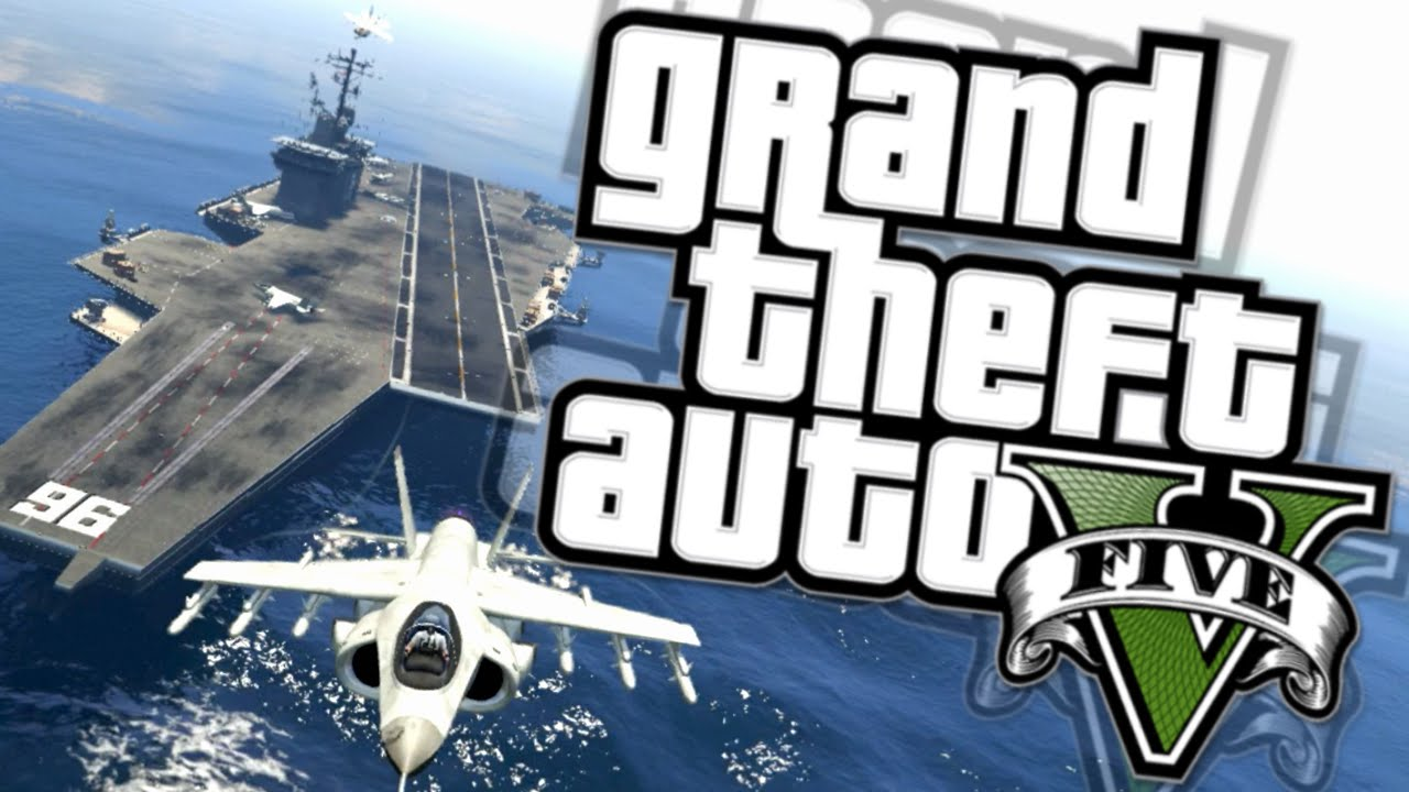 GTA 5 AIRCRAFT CARRIER! How to Access & Rockstar Request ...
