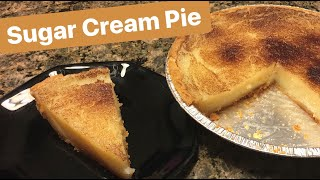 How to Make: Sugar Cream Pie