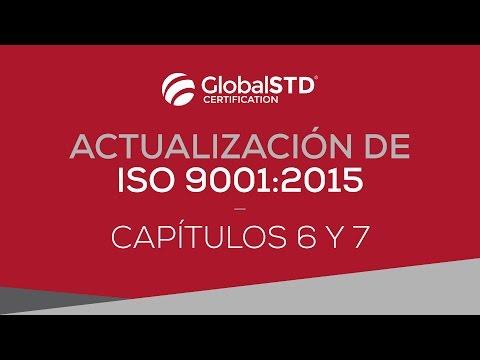 Capítulos 6 y 7 de ISO 9001:2015