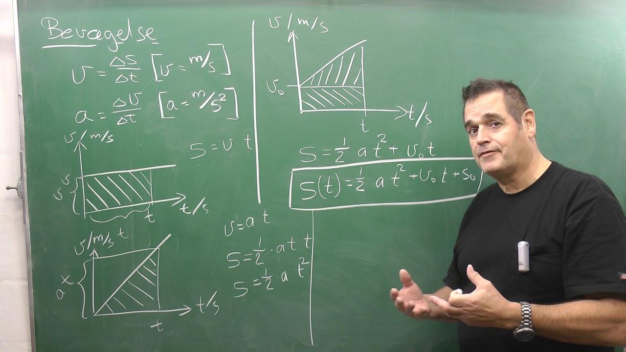 Sp10 Fremlæggelse Fysik B, konstant hastighed og konstant acceleration.