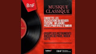 Concerto pour vielle à roue in C Major Les récréations du berger fortuné: II. Adagio...
