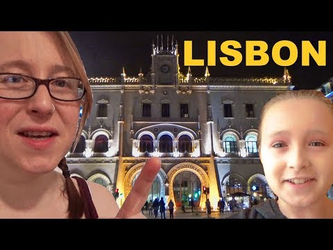 Lisbon, Portugal: Using the Metro, Lisbon Rain, Time Out Market and a Night Time Stroll.