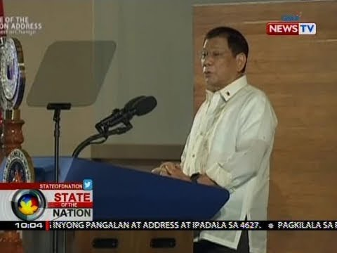 SONA: SONA 2017: Duterte priority bills
