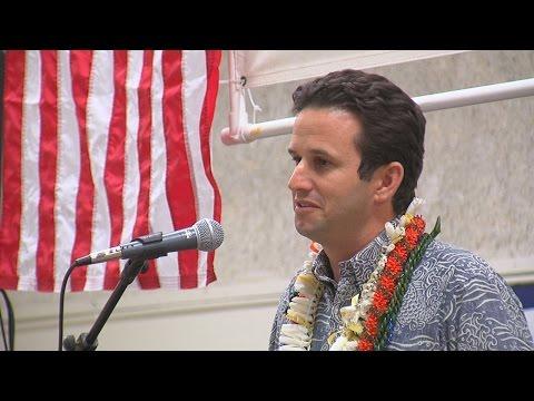 Sen. Brian Schatz - Democratic Grand Rally (Nov. 7, 2016)