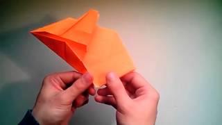 Como Hacer Un Avión De Papel F 16 Jet Fighter  [origami - Papiroflexia]