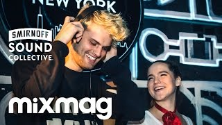 SOFI TUKKER global house set in The Lab NYC