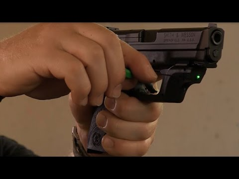 Crimson Trace Training Tip - Sighting in your Laser: Guns & Gear|S7 Pro Tip