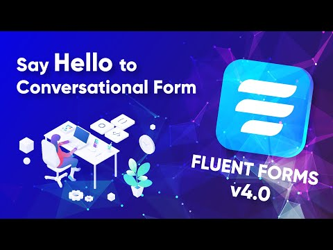 Design Beautiful Conversational Forms in WordPress with Fluent Forms v4.0 | Typeform Alternative