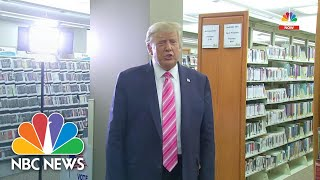 President Donald Trump Votes Early in Florida | NBC News