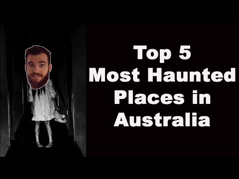 Top 5 Most HAUNTED Places in Australia (Don't Watch At Night)