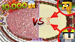 ¡10.000 ZOMBIES PIGMAN VS MIKELLINO! 😱 ¡ATRAPADOS EN EL NETHER! | #HORADEMIKELLINO EPISODIO 6 thumbnail