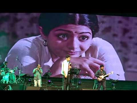 Singer Karthik -Kanne Kalai Maane-Unplugged- Singapore 2018