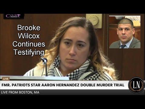 Aaron Hernandez Trial Day 16 Part 2 (Brooke Wilcox Continues Testifying) 03/23/17