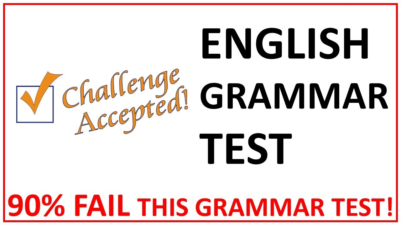 English Grammar Test | Can You Pass This Simple Grammar Test | Tricky Questions on English Grammar
