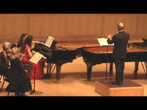 Lindsey Wright -  Johann Sebastian Bach - Keyboard Concerto No. 1 BWV 1052