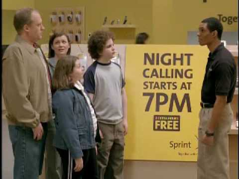 Sprint Commercial 7 PM