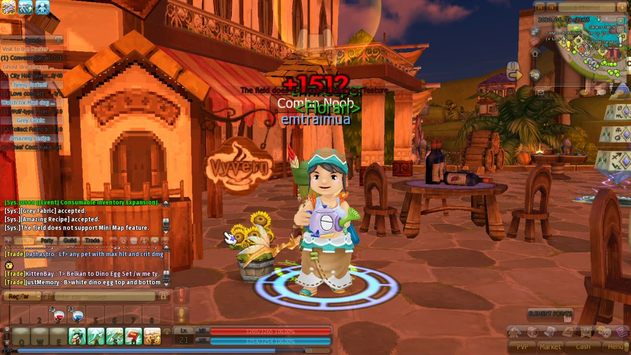 Game kiếm rồng Dragonica 2020 part 82: Test Thử Job Thợ Săn