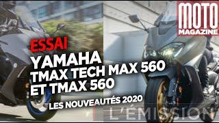 YAMAHA TMAX TECH MAX 560 - ESSAI MOTO MAGAZINE 2020