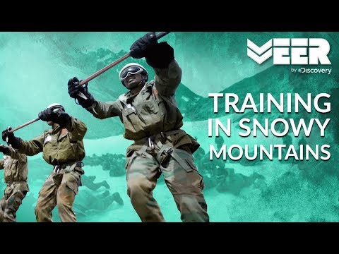 Indian Soldiers Training for Survival in Snowy Mountains | High Altitude Warfare School E3P1