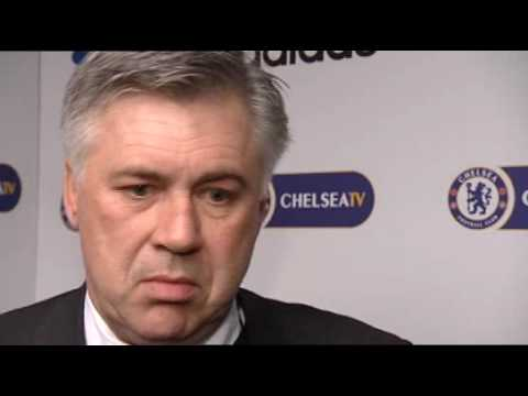 Carlo Ancelotti on Chelsea v Sunderland