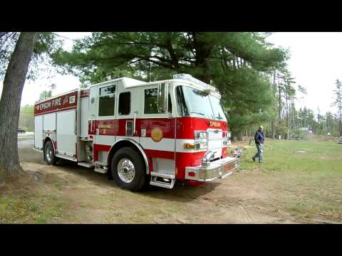 Fire Truck Show of Mostly Vintage Trucks and Apparatus Epsom NH