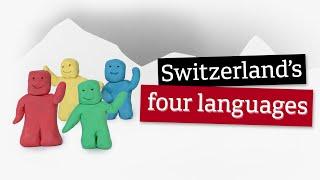 Switzerland's four languages