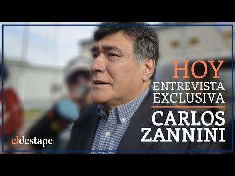 ENTREVISTA EXCLUSIVA: Carlos Zannini con Víctor Hugo