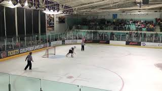 Petr Cech made his ice hockey debut for Guildford Phoenix, saved the winning penalty in a shootout