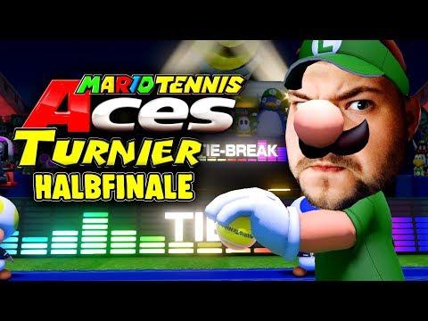 Schlacht ums Finale - Mario Tennis Aces Turnier - Halbfinale gegen fishC0p und Gorg