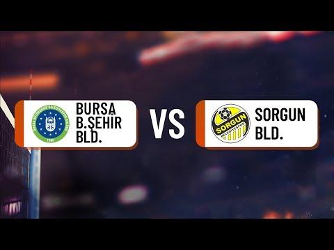 2018-2019 TVF 1. LİG ERKEKLER FİNAL ETABI BURSA B.ŞEHİR BLD. / SORGUN BLD.