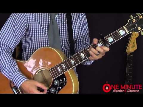 Rocky Top by The Osborne Brothers - 1 Minute Guitar Lesson