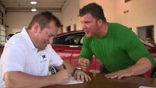Hilarious Car Commercial Personal Fitness Trainer Car Salesman Funny Stuff!
