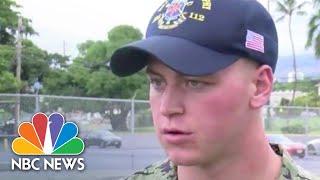 Military Personnel Describe Lockdown During Shooting At Pearl Harbor Naval Shipyard | NBC News