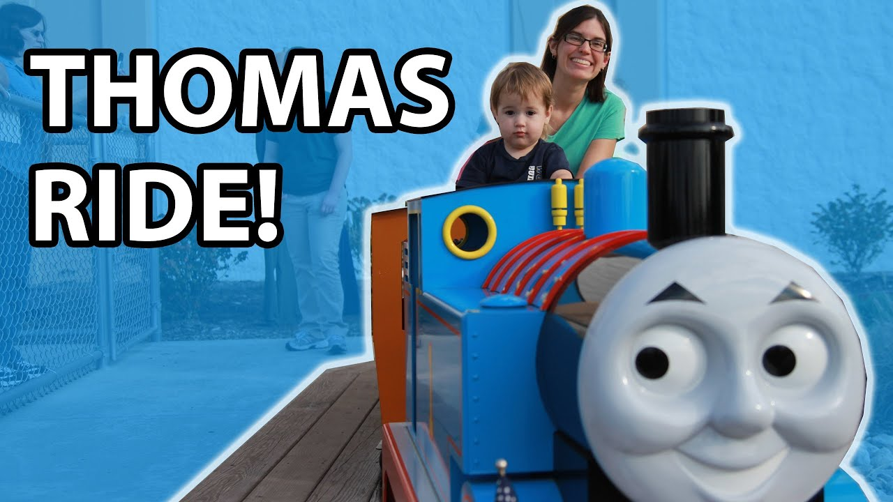 ride thomas the tank engine