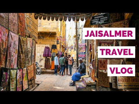 Jaisalmer City Guide | India Travel Video in Rajasthan