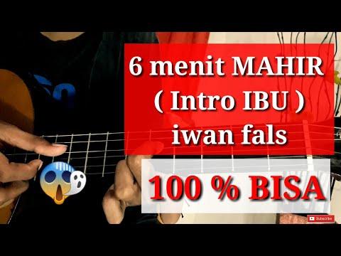 Belajar kunci gitar - iwan fals INTRO ( IBU ) untuk pemula part #1