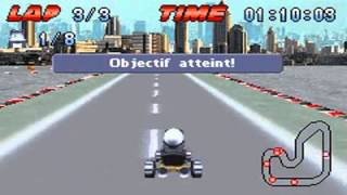 Crazy Frog Racer sur GameBoy Advance