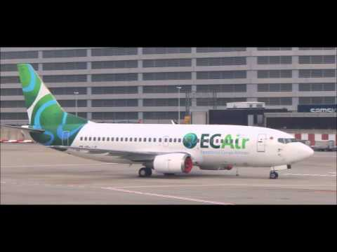Equatorial Congo Airlines at Brussels Airport - 737-300